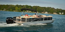 Picture of 250HP Pontoon