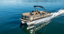 Picture of 300HP Pontoon with T